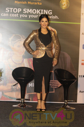 Photos Of Sunny Leone Launches A Quirky Anti Smoking PSA Film Hindi Gallery