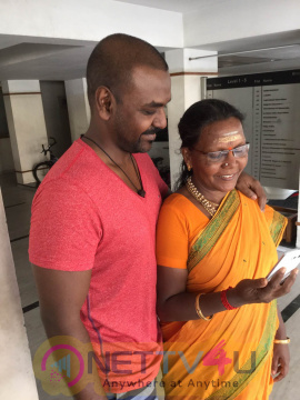 Photos Of Tamil Actor Raghava Lawrence To Build Temple For His Mother Tamil Gallery