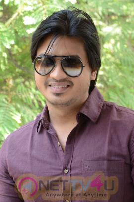 Pidugu Movie Hero Vinith Interview Stills