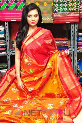 Pochampally IKAT Art Mela Begins Inaugurated By Actress Priyanka Stills