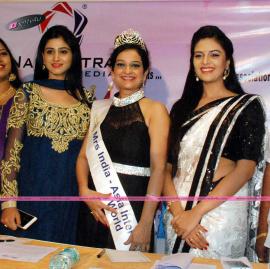 Press Meet Of Mrs.Telangana 2015 A Grand Curtain Raiser