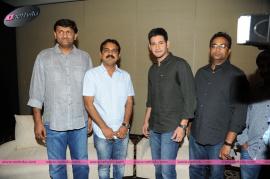 press meet of srimanthudu movie