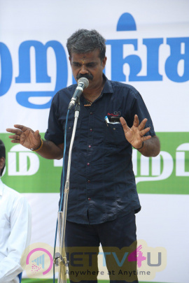 Producer PT Selvakumar Protest In Chennai