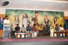 puli movie press meet and movie stills first look