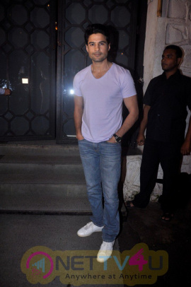 Rajeev Khandelwal And Vikas Bahl Host Dinner Party For Fever Actress Caterina Murino Stills