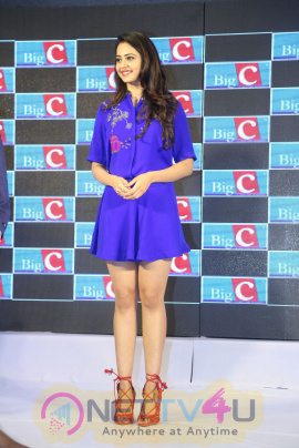 Rakul Preet Singh As BIG C New Brand Ambassador Photos Telugu Gallery