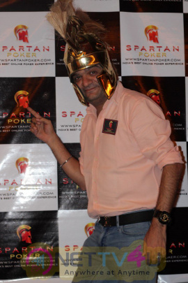 Rannvijay Singh Attended India's Best Online Poker Players At The Spartan Night Photos