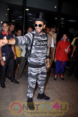 Ranveer Singh Spotted At Airport Good Looking Stills