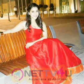 Red Hot Mannara Chopra Sizzles At Dubai Attractive Images