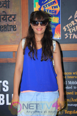 Richa Chadda Attends Thespo Youth Theatre Festival Fascinating Stills Hindi Gallery