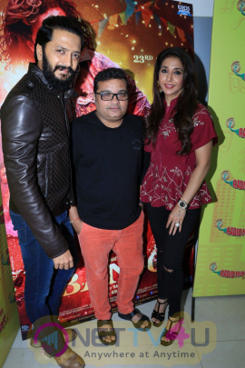 Riteish Deshmukh Launched Film Banjo New Song At Radio Mirchi Stills