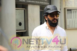 Riteish Deshmukh Surprise Visit To Banjo Screening Stills