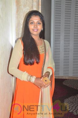 Riythvika Gorgeous Stills At Kabali Success Meet