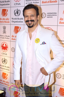 Rohit Shetty & Vivek Oberoi At PC For Fight Against Tobacco Event Stills