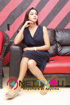recent images of actress angana roy at haveli coffee shop opening