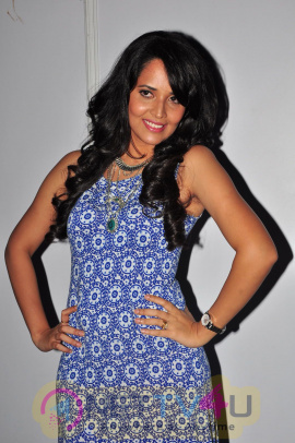 Recent Images Of Anchor Anasuya At Bale Bale Magadivoy Audio Launch
