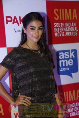 recent photos of actress pooja hegde at south indian international movie awards press meet 10