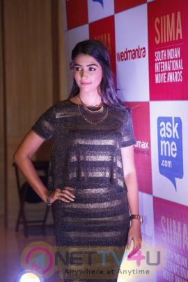 recent photos of actress pooja hegde at south indian international movie awards press meet 19