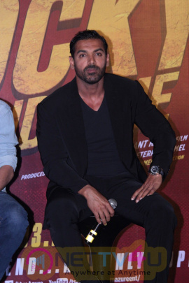 Rocky Handsome Film Trailer Launch Stills Hindi Gallery