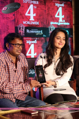 rudrama devi press meet and trailor launch
