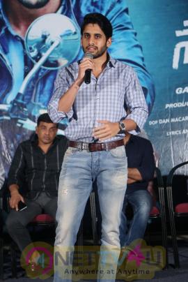Saahasam Swaasaga Saagipo Movie Release Press Meet Stills Telugu Gallery