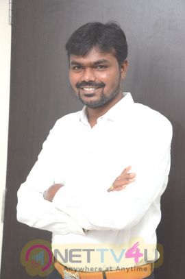 Sahasam Swasaga Sagipo Producer Ravinder Reddy Interview Stills