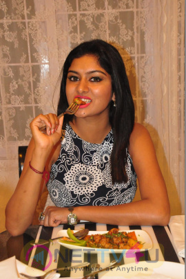 Sai Akshatha Launches Swot Restaurant Attractive Stills Telugu Gallery