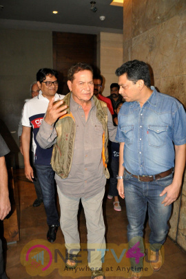 Salim Khan At Screening Of Film Sultan Elegant Stills