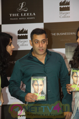 Salman Khan Launches Sania Mirza Autobiography Event Photos