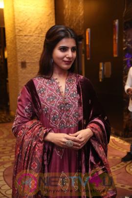 Samantha Good Looking Stills At Remo Movie Audio Launch Telugu Gallery