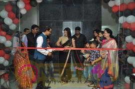 Sanjjanaa Galrani At First Ever Inauguration In Chennai For Inaugural Photos