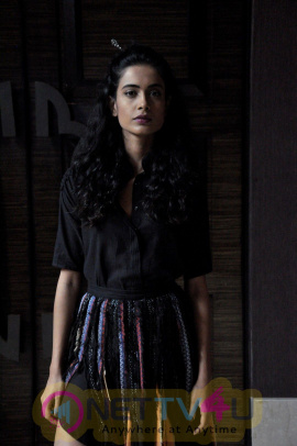 Sarah Jane Dias On Ramp For Aditi Holani At LFW 2016 Photos Hindi Gallery