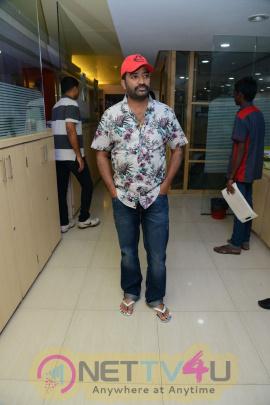 Selfie Raja Team At Radio Mirchi Attractive Photos Telugu Gallery