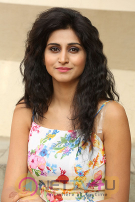 Shamili Cute Lovely Stills At Sree Ramaraksha Telugu Movie Audio Launch Telugu Gallery