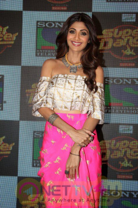 Shilpa Sizzles At The Launch Of Super Dancer Photos