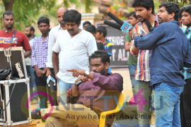 Sobhan Babu Movie Working Photos