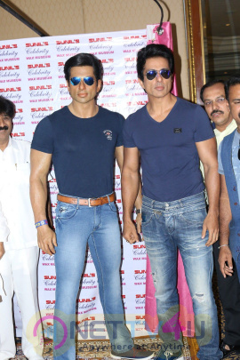 Sonu Sood At Unveiling Of Wax Statue Photos Hindi Gallery