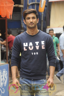 Sushant Singh Rajput On The Set Of Kumkum Bhagya Stills Hindi Gallery