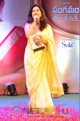 Sangama Foundation Swara Samraagni  (Birudu) Given To P.Suseela Exclusive Photos