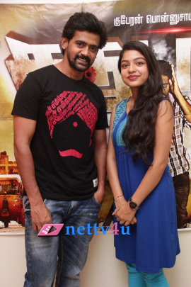 sathuran movie press meet photos