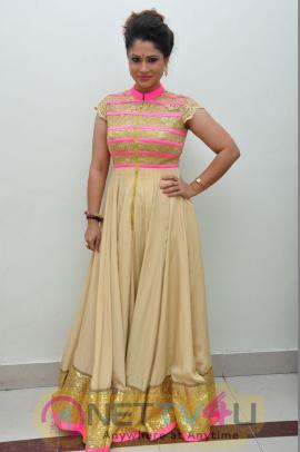 Shilpa Chakravarthy Dazzling Stills At Oka Manasu Movie Audio Launch