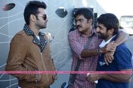 shivam telugu movie working stills exclusive