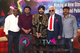 singer daler mehndi   shalabh kumar joined to produce kannada film check pressmeet stills 8