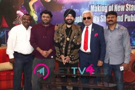 singer daler mehndi   shalabh kumar joined to produce kannada film check pressmeet stills 8