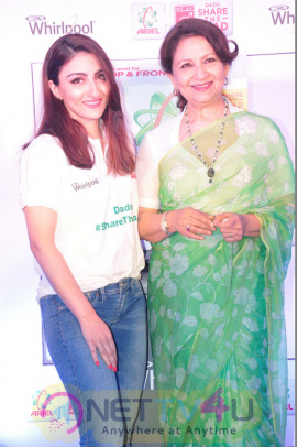 Soha Ali Khan At Ariel Dads Share The Load Event Exclusive Stills Hindi Gallery