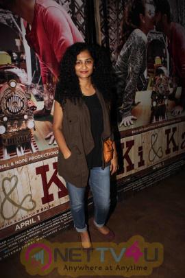 Sonam Kapoor, Alia Bhatt, Parineeti Chopra At Ki & Ka Special Screening Stills Hindi Gallery