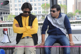 Subramanyam For Sale Movie Working Stills