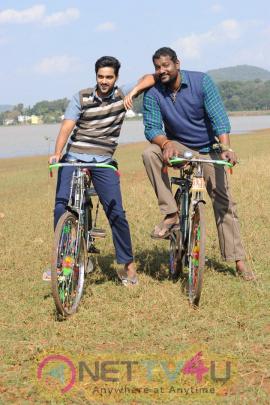 sumanth ashwin latest movie right right working stills