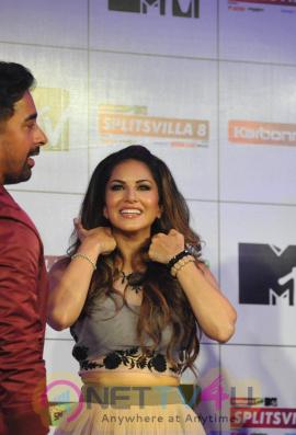 Sunny Leone Sexy Bollywood Actresses At Splitsvilla 8 Press Meet Photos