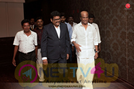 Super Star Rajinikanth At Director K.S.Ravikumar Daughter After Marriage Party Photos   Tamil Gallery